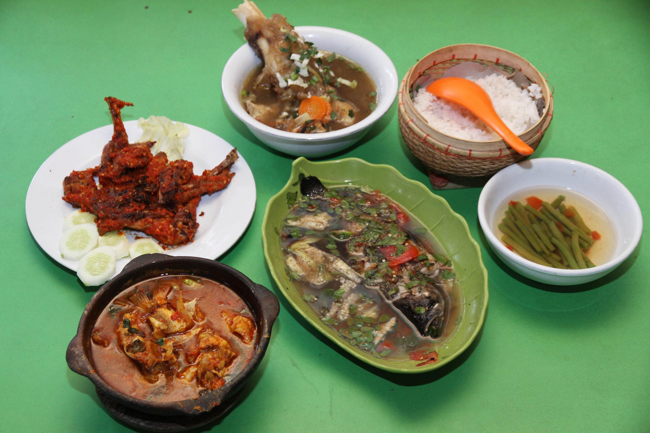 Makanan Khas Taliwang