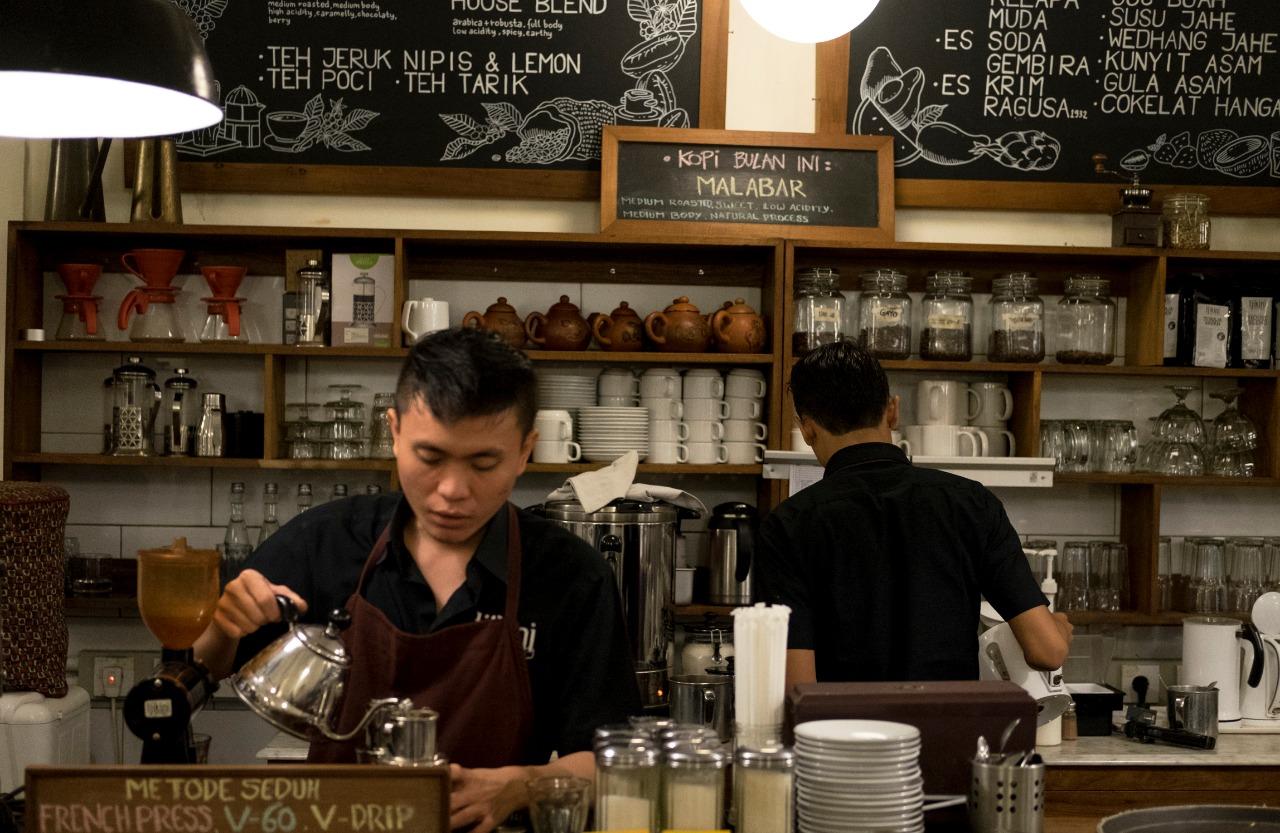 Kedai kopi Parekraf