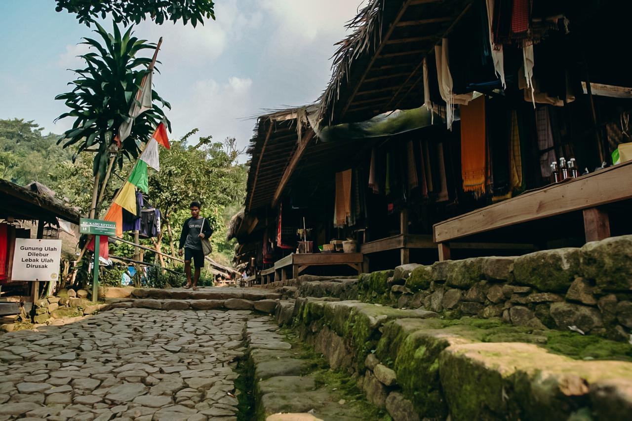 Suasana Kampung Baduy