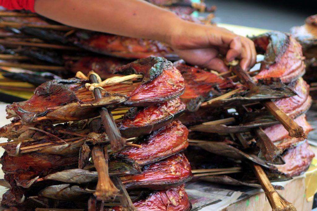 Cakalang Fufu di Minahasa