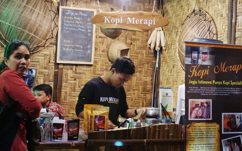 Kopi Merapi di Cangkringan, Yogyakarta
