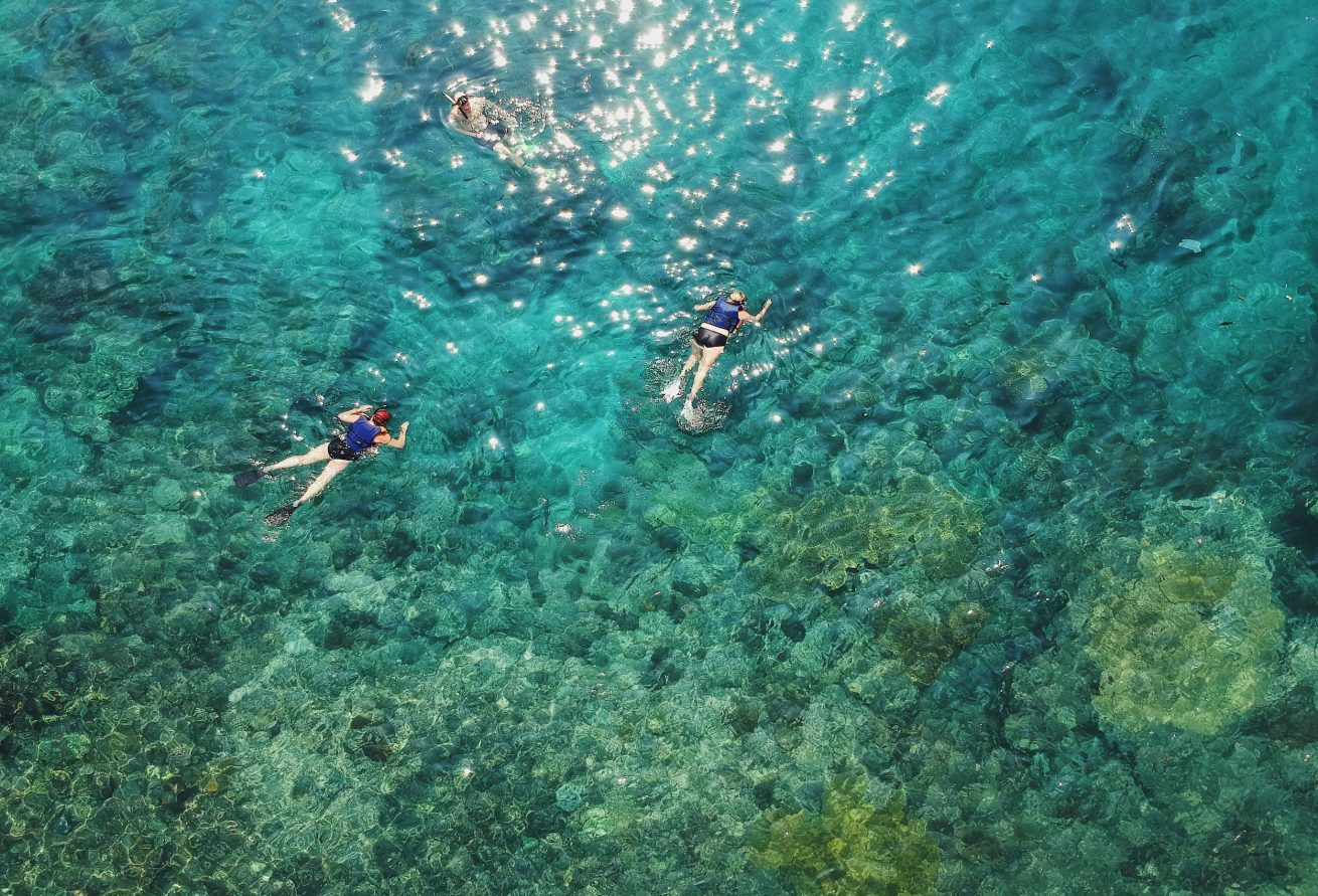 3 pantai di Karangasem salah satunya Blue Lagoon