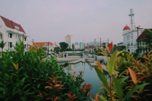 Wisata kota tua di kota Jakarta