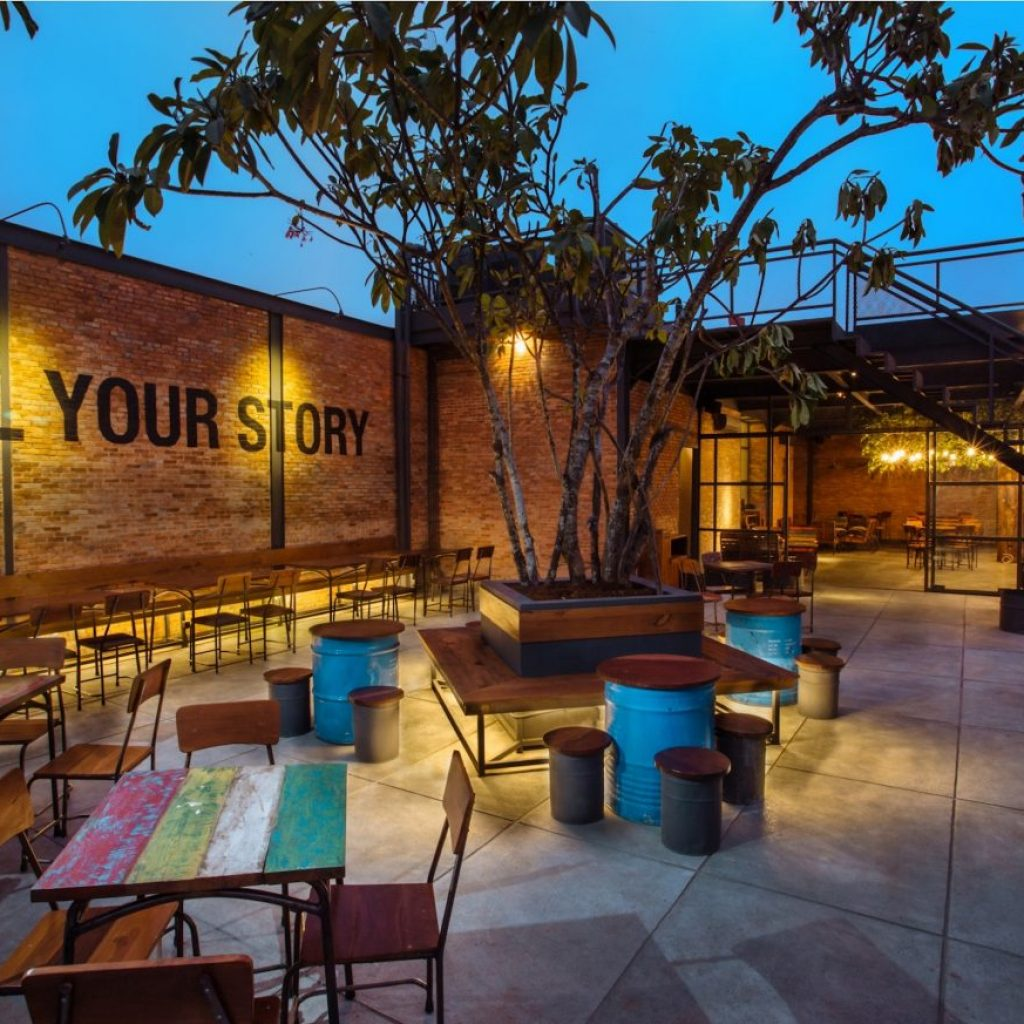 Cafe Two Stories