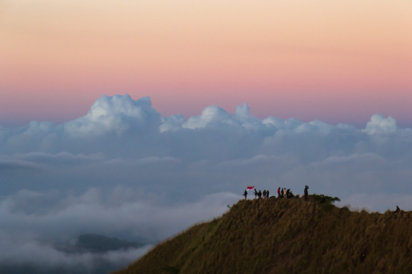 Seven wonders of Bali di antaranya Gunung Batur