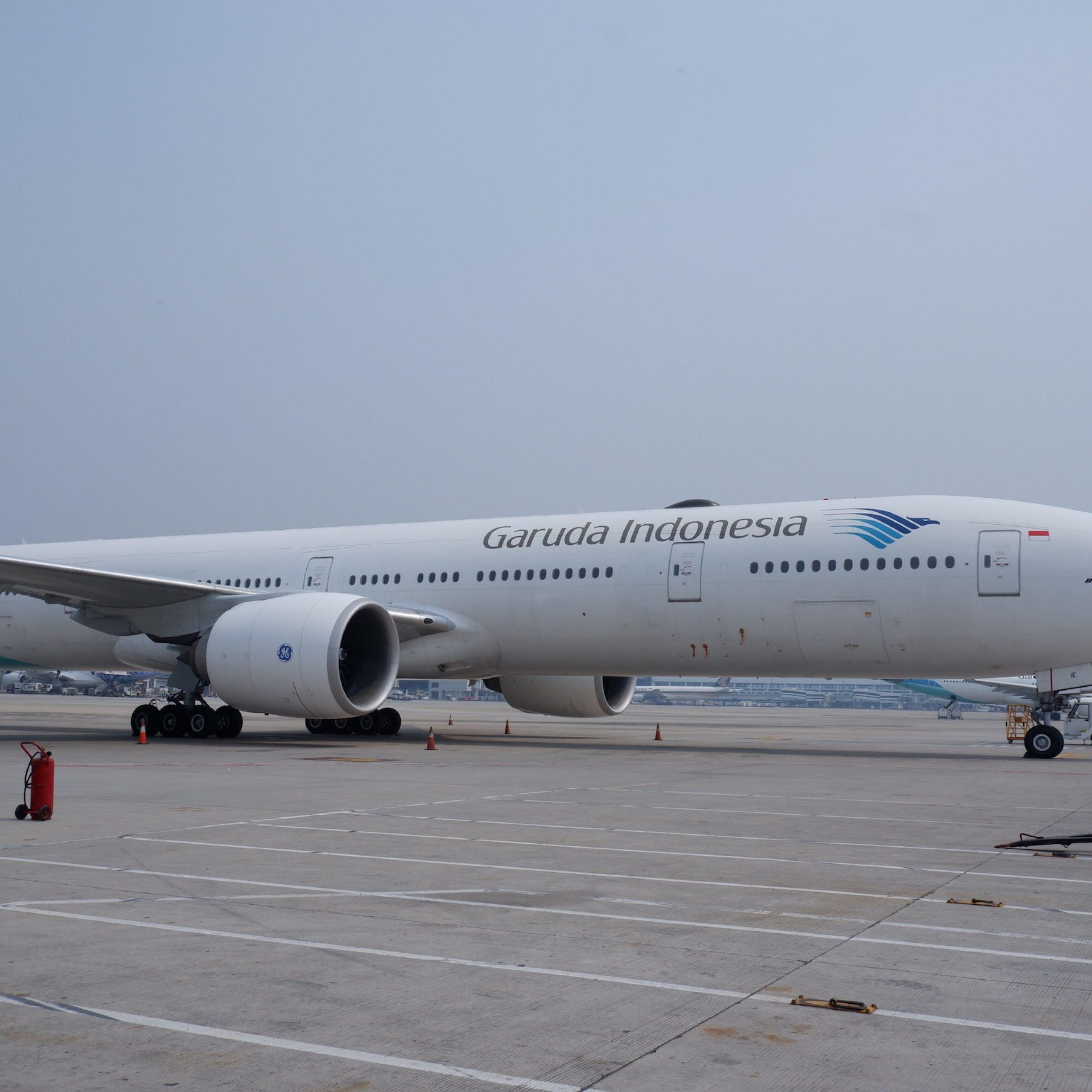 Penerbangan akhir tahun sejumlah 3 persen calon penumpang Garuda Indonesia melakukan refund dan 6 persen me-reschedulle.