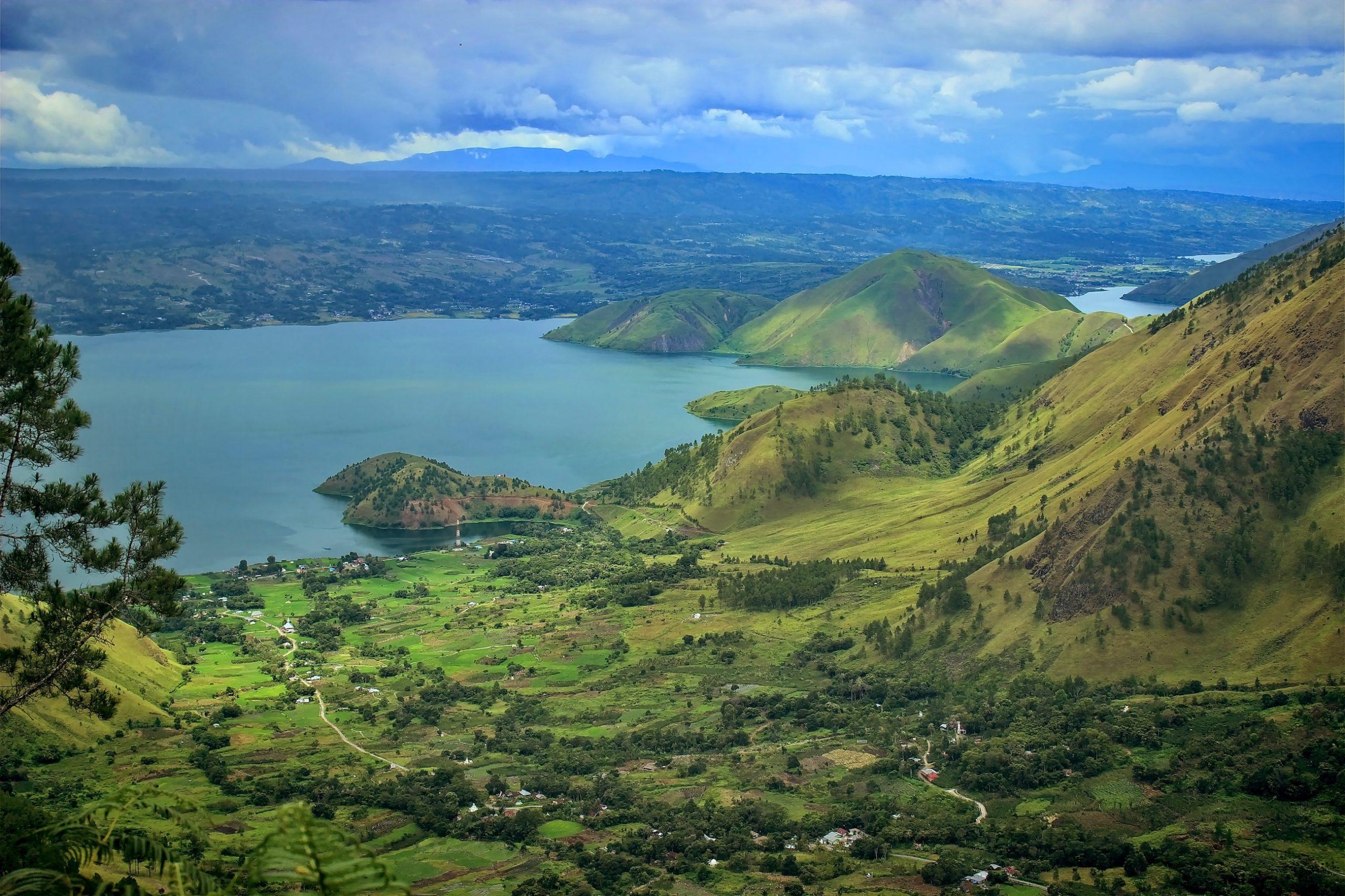 Gunung Purba Toba ledakannya menyimpan sejuta misteri