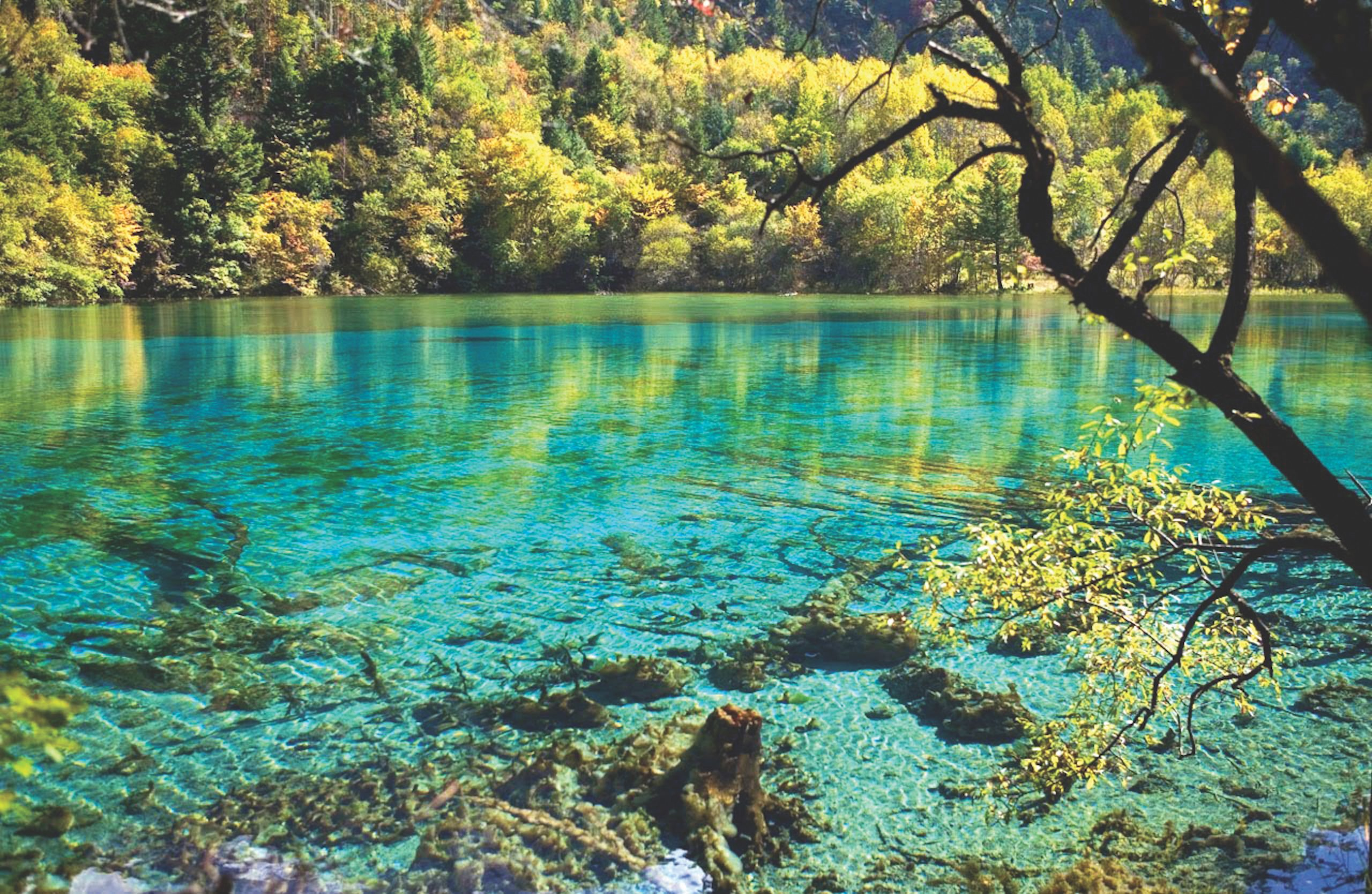 8 danau unik di Indonesia akibat fenomena alam.