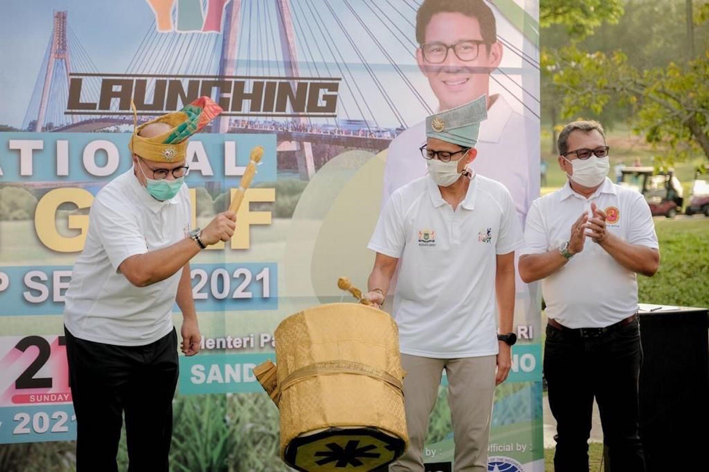 Menparekraf Luncurkan Batam Golf Series 2021