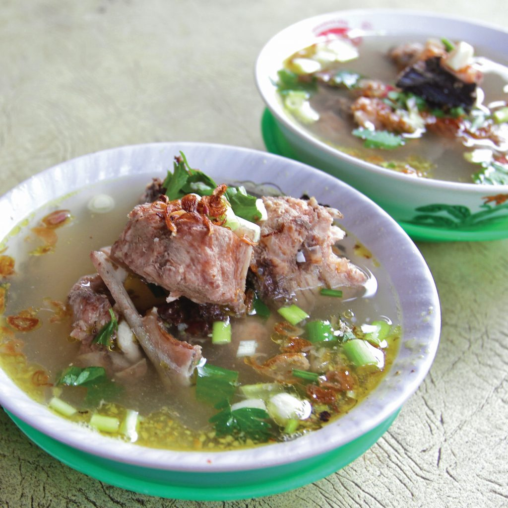 Nikmatnya 3 menu ikan tuhuk di Krui, Lampung Barat. Salah satunya sop ikan tuhuk.