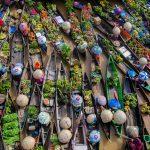 Pasar apung Banjarmasin menjadi salah satu ikon pariwisata kota ini, selain sebagai prasarana ekonomi.