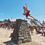 Perjalanan di Tano Niha Lompat batu