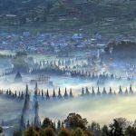 Dataran Dieng disebut sebagai desa tertinggi di Pulau Jawa
