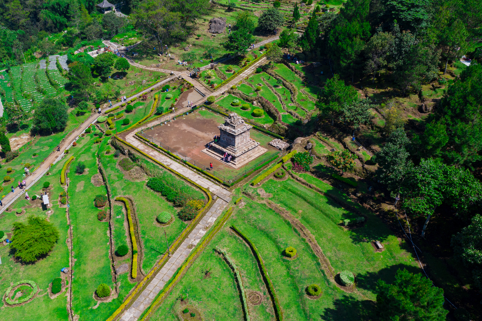 Gedong Songo, kompleks 9 candi Hindu di Gunung Ungaran