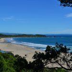 Pantai Sawarna nan cantik di Sukabumi, Jawa Barat, 230 kilometer dari Jakarta.