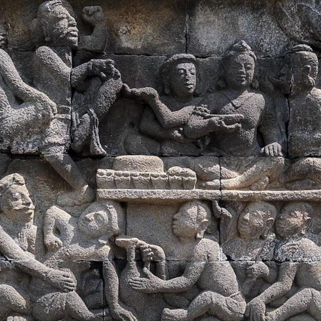 trail of civilization diluncurkan Kemenparekraf untuk mengembangkan wisata di Borobudur yang mengadopsi pola-pola perjalanan dari kehidupan di masa lampau.