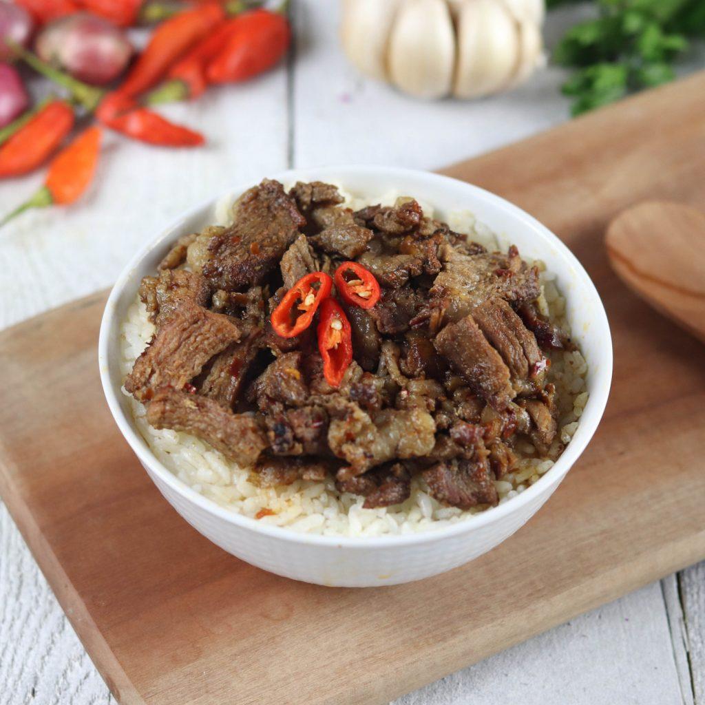 sei sapi NTT keluar sebagai jawara pada Anugerah pesona Indonesia 2020 sebagai makanan terpopular.