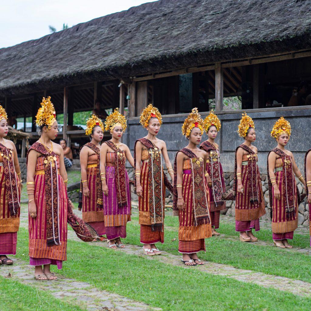 Desa Adat Tenganan salah satu dari 3 desa Bali Age di Karangasem, Bali.