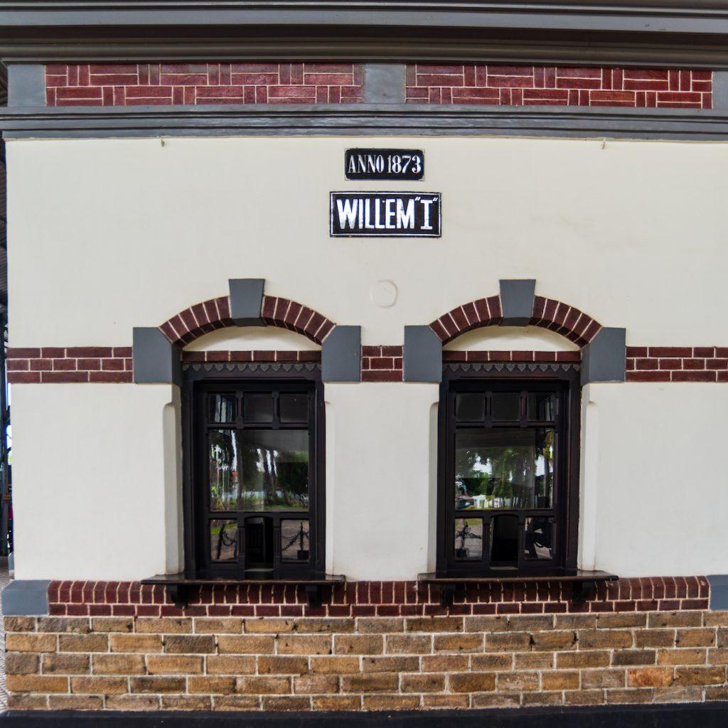 Museum Kereta Ambarawa dikembangkan dari Stasiun Willem I yang sudah tidak beroperasi lagi.