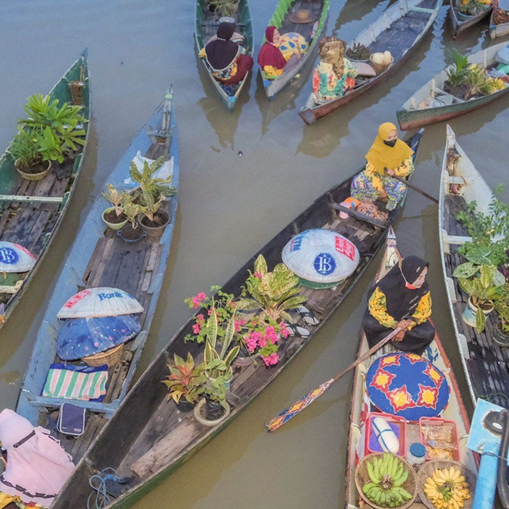 Banjarmasin didorong kembangkan wisata 1000 sungai sebagai kekuatan pariwisata.