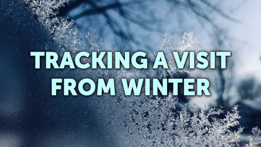 Visit from winter