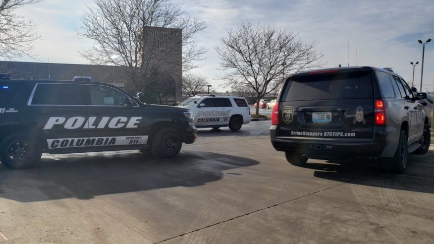 Columbia Police at Commerce Bank