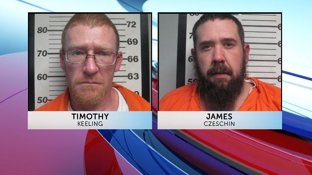 Authorities arrested two men on felony drug charges following a search in Maries County.