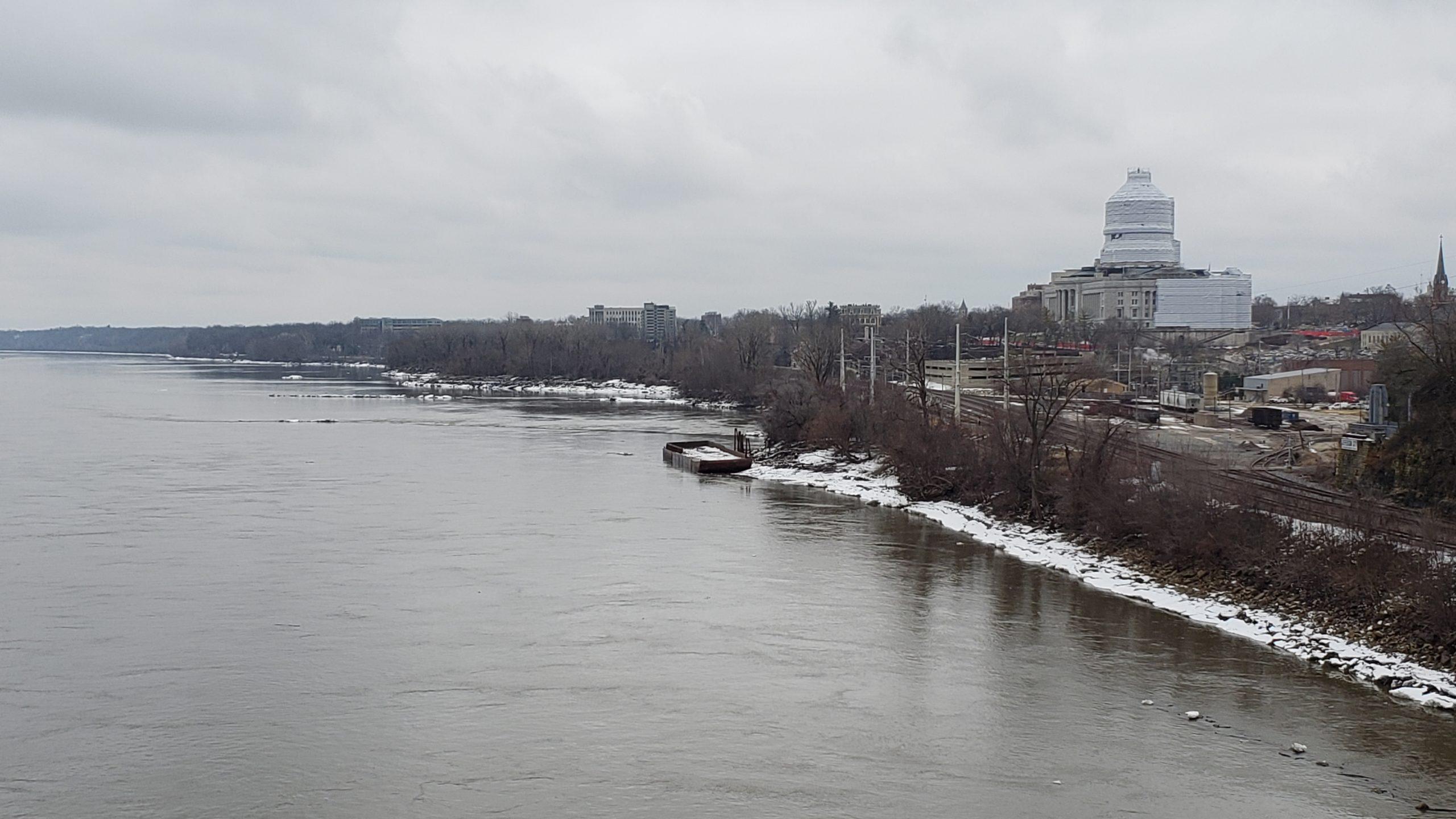 Missouri River in Jefferson City
