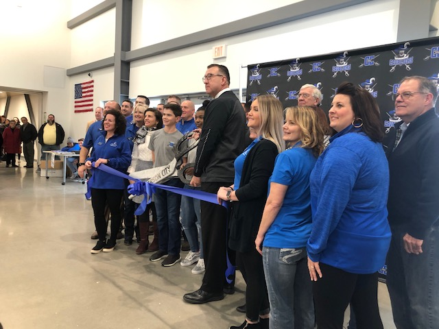 Ribbon cutting ceremony at Capital City High School on Sunday