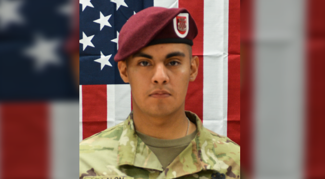 Pfc. Miguel Villalon was killed in an attack in Afghanistan Saturday.