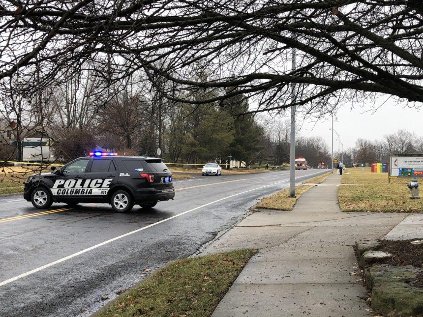 Chapel Hill crash scene