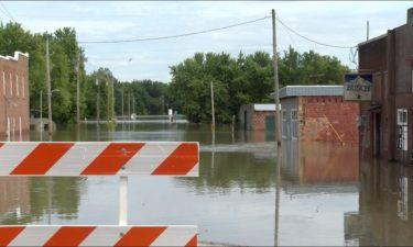 Flooding in Mokane