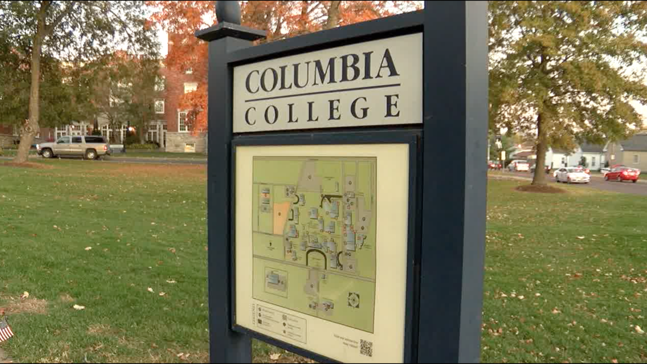 Columbia College map