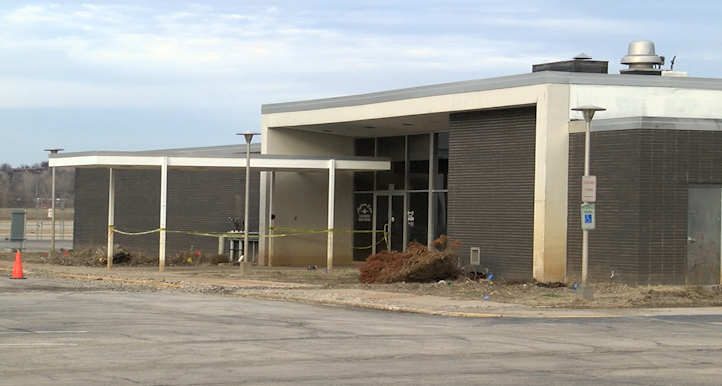 The terminal of the Jefferson City Memorial Airport was significantly damaged by historic flooding of the Missouri River last Summer