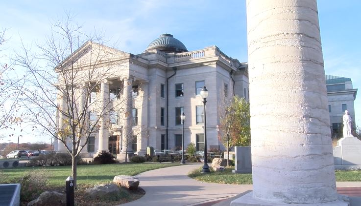 The Boone County Courthouse
