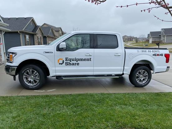 EquipmentShare truck