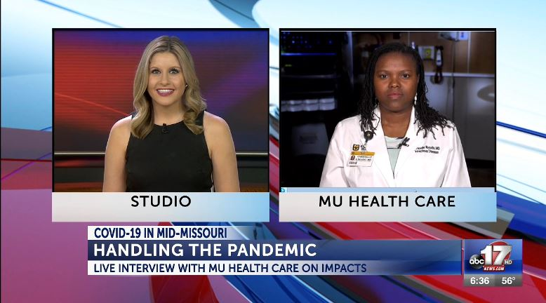 Dr. Ilboudo and Zara Barker live on ABC 17 News This Morning May 19