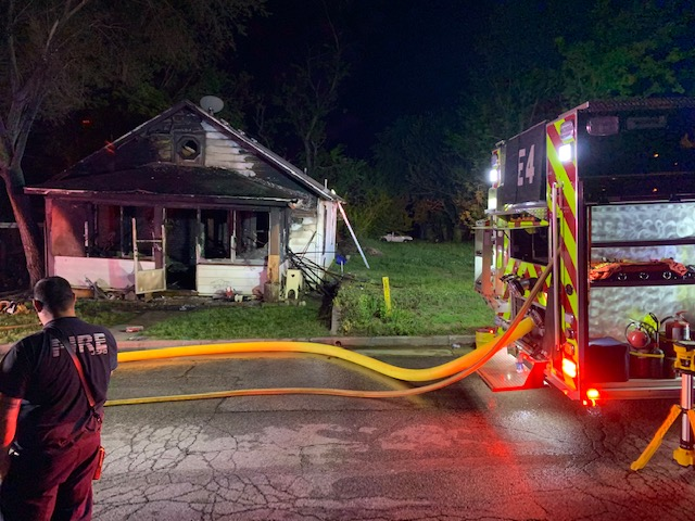 Jefferson City house fire