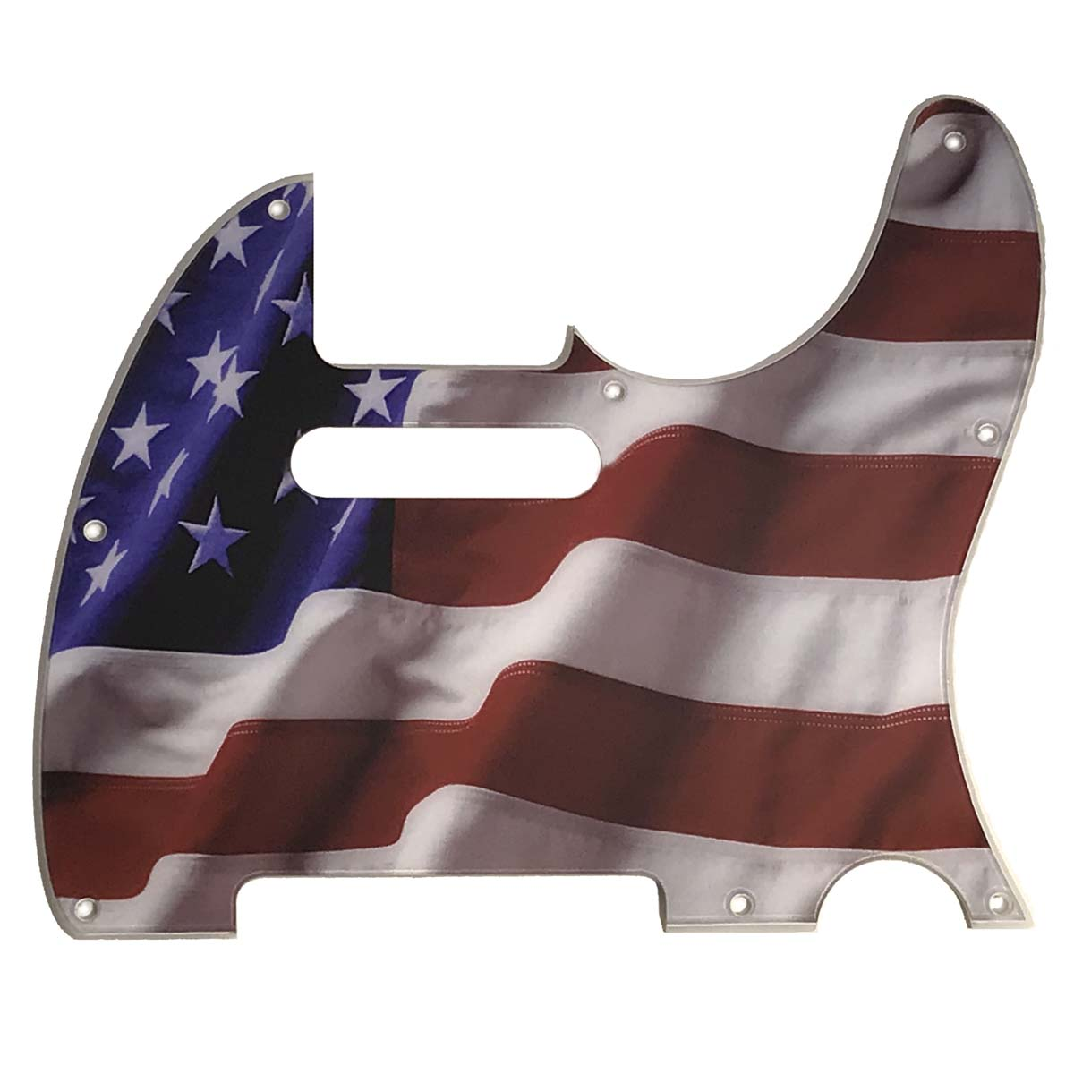 Telecaster  USA / American Flag Pickguard - 114 - 2-ply