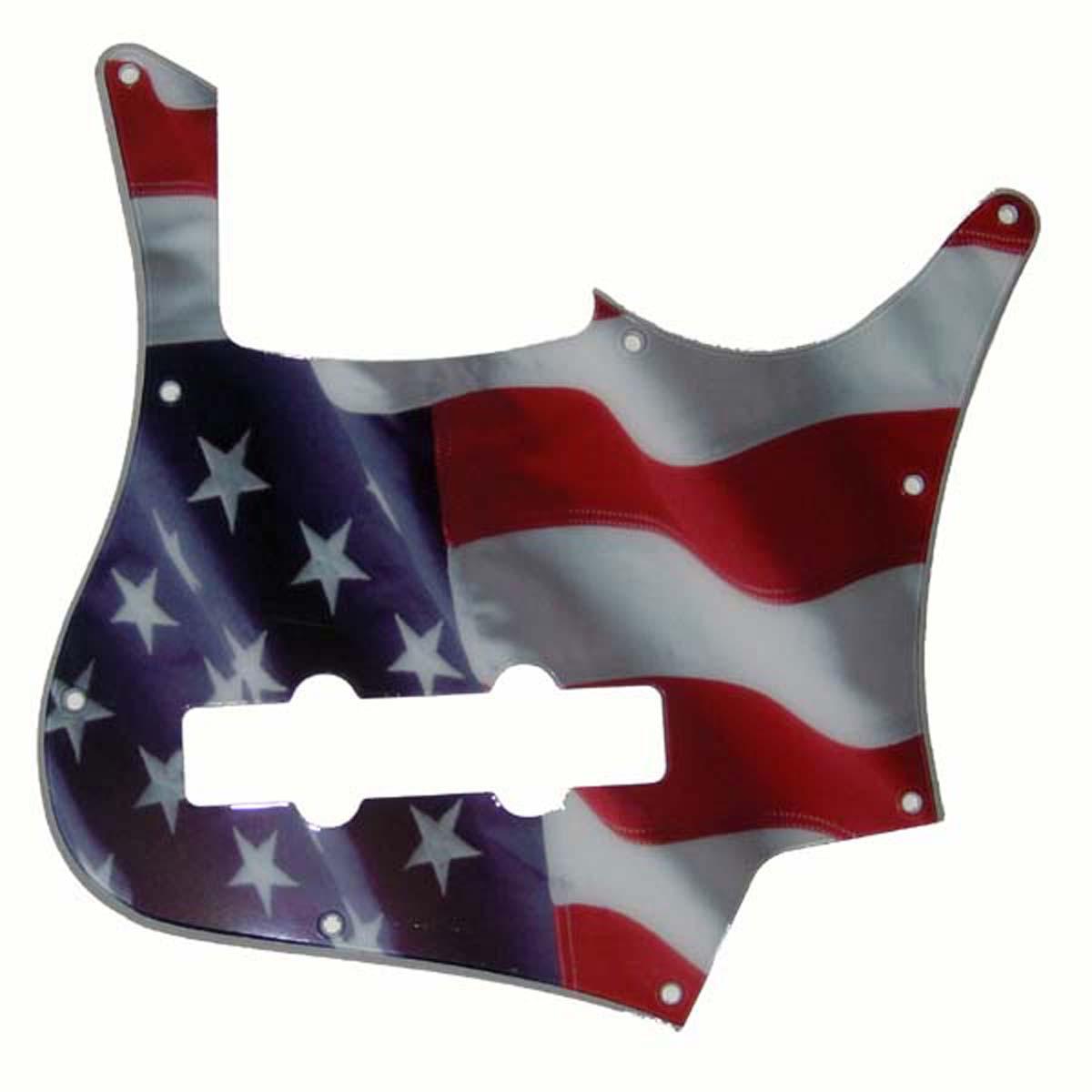 Carvin ® SB5000 5 String Bass Pickguard- 2-ply - USA American Flag-  004