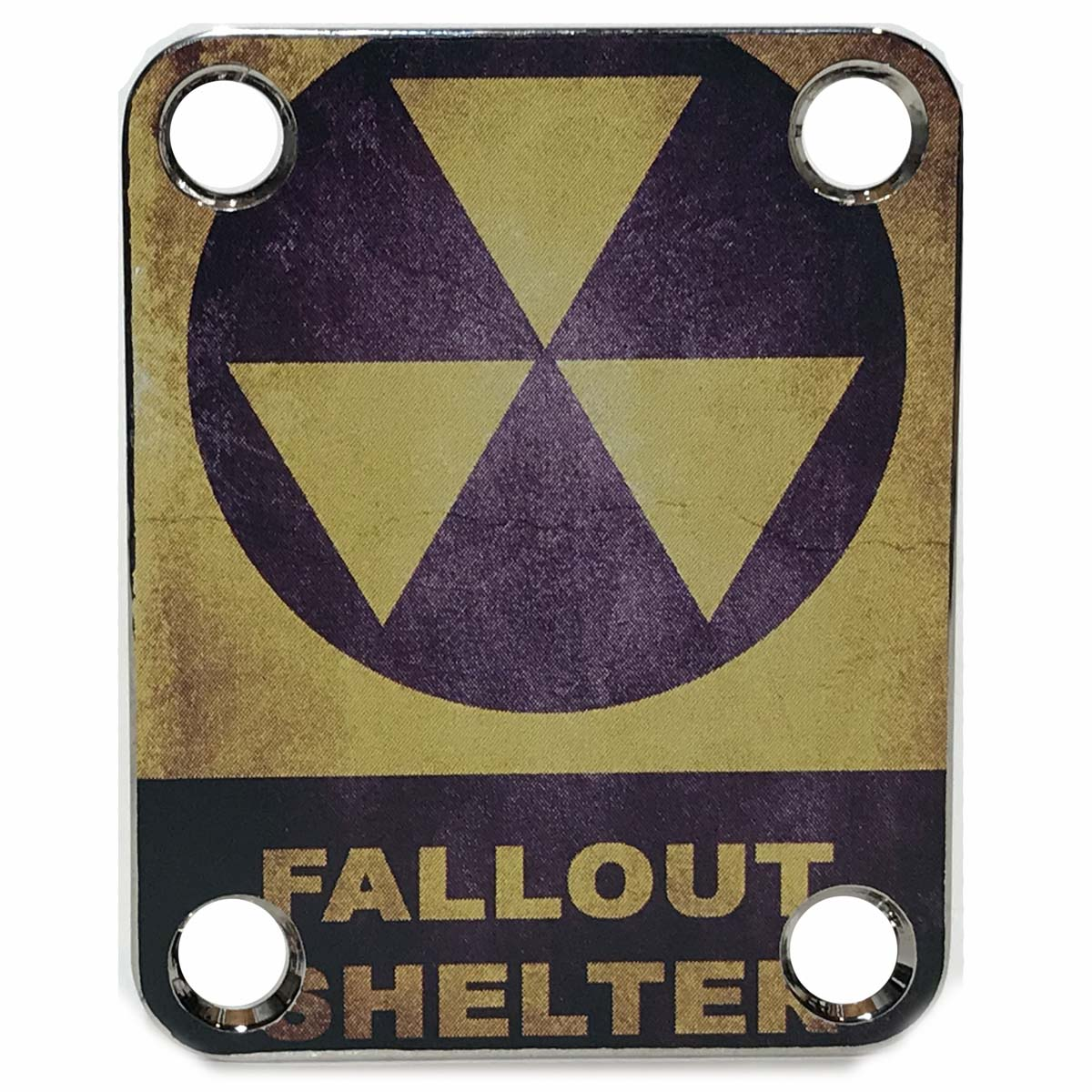 Custom Shop COLOR Fallout Shelter Neck plate- 045