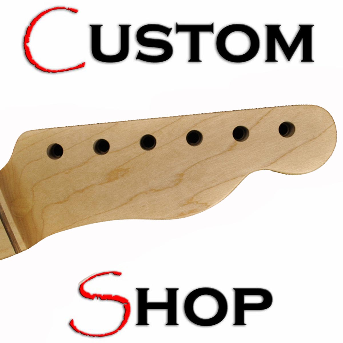 CUSTOM SHOP Aged Telecaster BLACKGUARD Replacement Neck