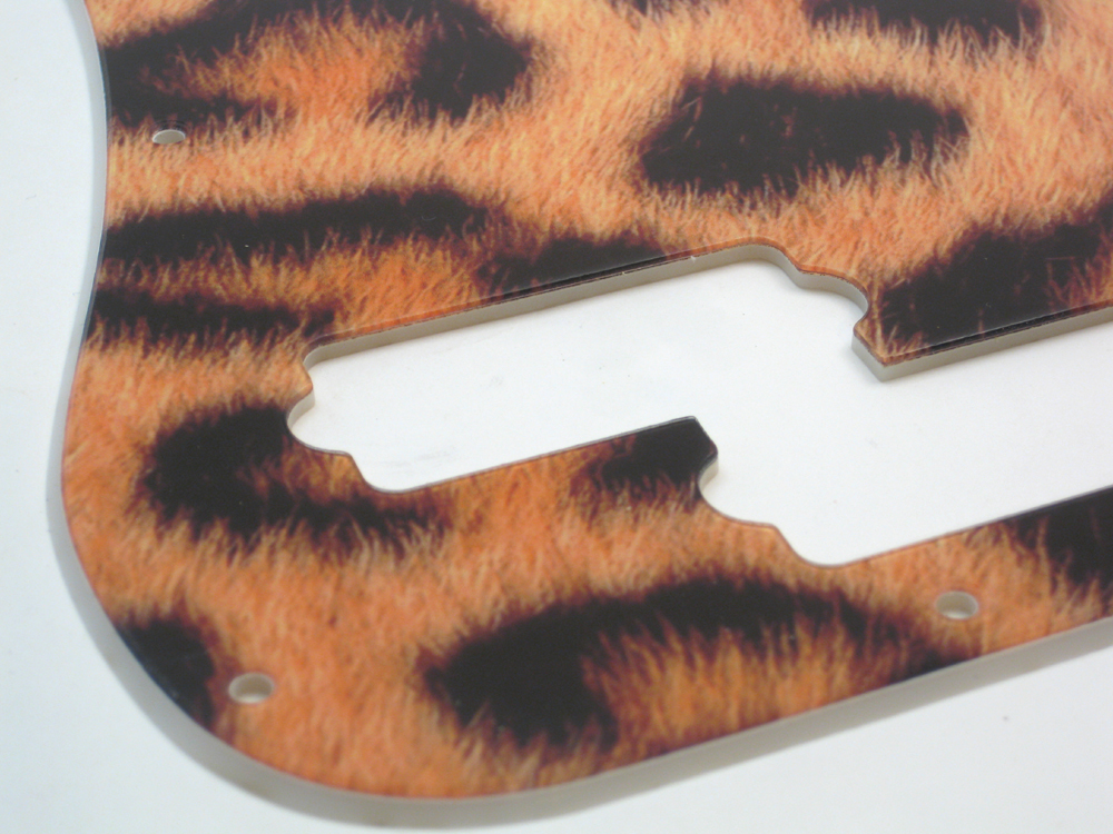 Precision Bass Leopard Print Pickguard 2-ply - 105