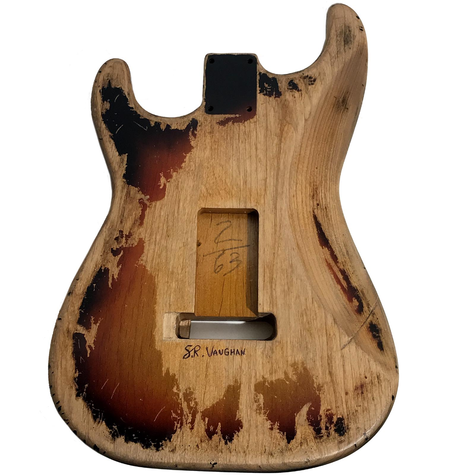 SRV Number One / First Wife Style Replica Stratocaster Replacement Alder Body