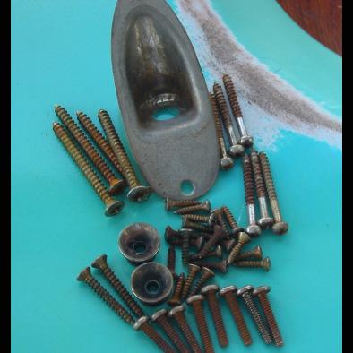 Stratocaster Relic Hardware Kit #1