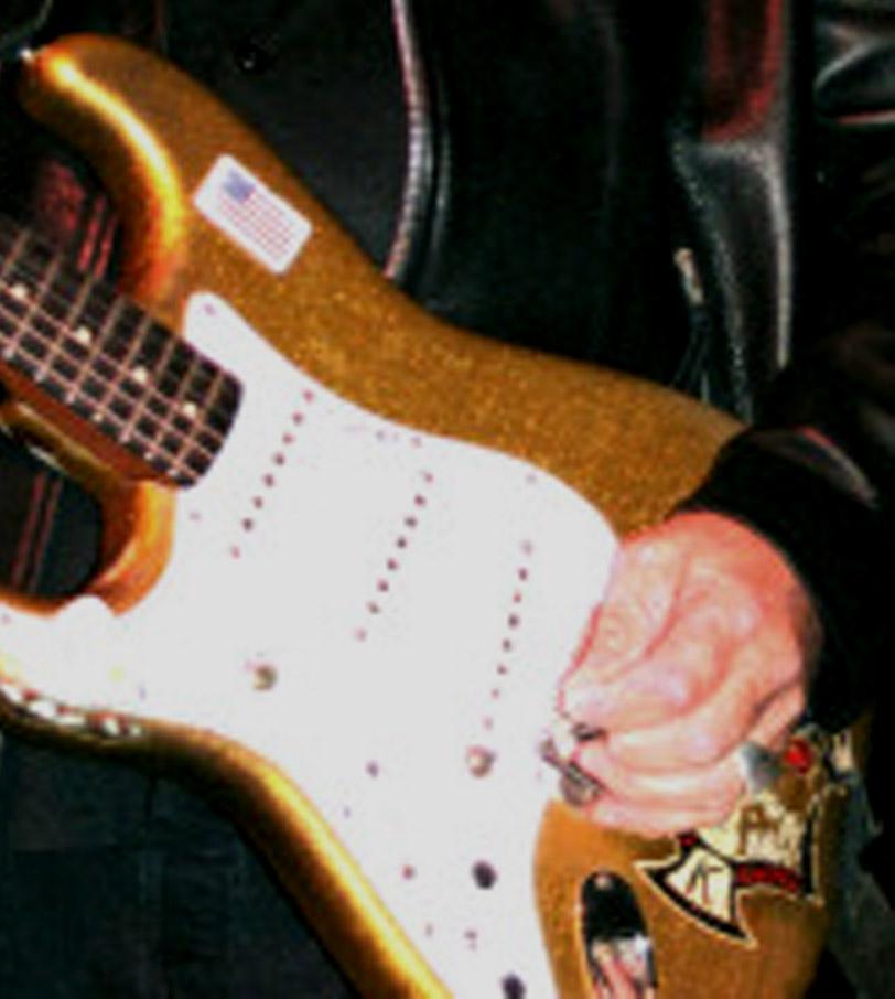 Dick Dale Stratocaster Replica Stickers - Decals