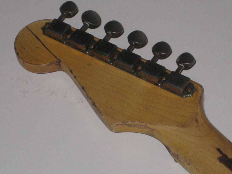 Aged Neck - SRV Lenny Replica Stratocaster Replacement