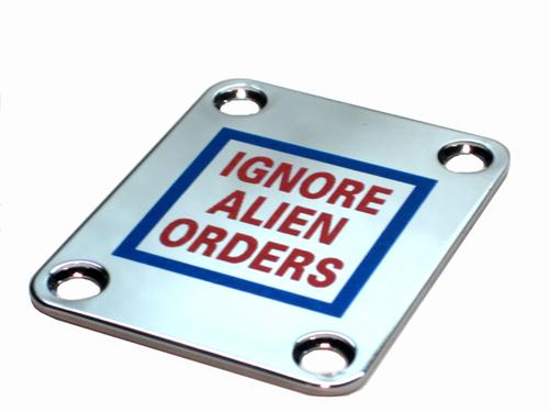 Custom Shop Neckplate Strummer Telecaster Ignore Alien Orders - SPECIAL ORDER 118