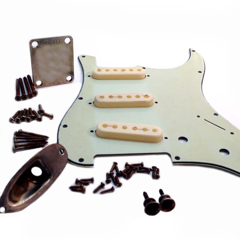 ULTIMATE Stratocaster Relic Hardware Kit #2