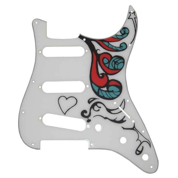 JH Monterey Stratocaster Alder Replica Body
